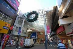JR中央線高円寺駅前、ルック商店街の様子。(2008-12-15,共用部,ENVIRONMENT,1F)