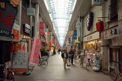JR中央線高円寺駅前、ルック商店街の様子2。(2008-12-15,共用部,ENVIRONMENT,1F)