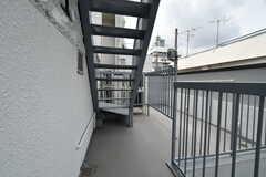 廊下の様子。(2020-05-26,共用部,OTHER,3F)
