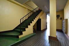 階段の様子。(2017-02-15,共用部,OTHER,1F)