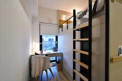 ドミトリーの様子3。モデルルームです。(S218号室)(2020-11-04,専有部,ROOM,2F)