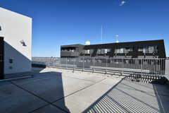屋上の様子2。(2020-11-04,共用部,OTHER,8F)