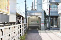 京王本線・上北沢駅の様子。(2020-11-04,共用部,ENVIRONMENT,1F)