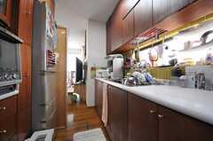 キッチンの様子2。(2014-05-12,共用部,KITCHEN,2F)