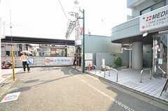 京王線・上北沢駅の様子。(2015-08-03,共用部,ENVIRONMENT,1F)