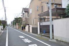 周辺は静かな住宅街です。(2016-02-01,共用部,ENVIRONMENT,1F)