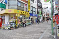 京王井の頭線・西永福駅前の商店街の様子。(2016-02-01,共用部,ENVIRONMENT,1F)