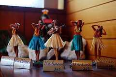 """正面を向いた人形は""""在室""""のサイン。(2010-04-23,周辺環境,ENTRANCE,1F)"""