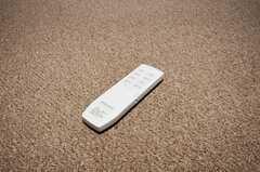 照明のリモコン。床はカーペットです。(201号室)(2010-04-23,専有部,ROOM,2F)