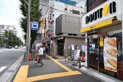 東京メトロ丸ノ内線・南阿佐ヶ谷駅前の様子2。(2019-10-03,共用部,ENVIRONMENT,1F)