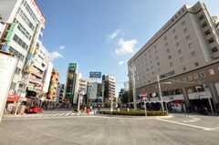 JR中央線高円寺駅の様子。(2009-11-26,共用部,ENVIRONMENT,1F)