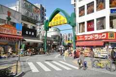 JR中央線高円寺駅前の商店街。(2009-11-26,共用部,ENVIRONMENT,1F)