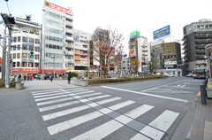 各線・高円寺駅前の様子。(2015-12-17,共用部,ENVIRONMENT,1F)