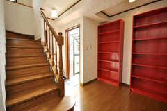内部から見た正面玄関の様子。(2009-04-14,周辺環境,ENTRANCE,3F)