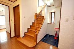 階段の様子。(2009-04-14,共用部,OTHER,3F)