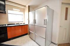 共用の冷蔵庫の様子。(2009-04-14,共用部,OTHER,4F)