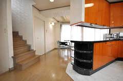 階段の様子。(2009-04-14,共用部,OTHER,4F)