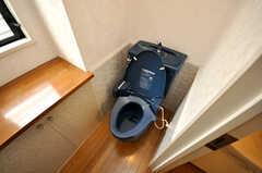 トイレの様子。(2009-04-14,共用部,TOILET,3F)