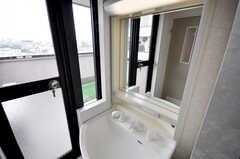 洗面台の様子。(2009-04-14,共用部,OTHER,5F)