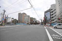 東京メトロ丸ノ内線方南町駅前の様子。(2009-04-14,共用部,ENVIRONMENT,1F)