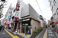 東京メトロ丸ノ内線・南阿佐ケ谷駅の様子。(2011-04-21,専有部,ROOM,1F)