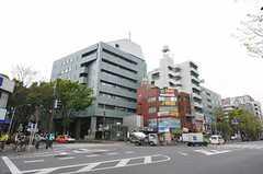 東京メトロ丸ノ内線・南阿佐ケ谷駅前の様子。(2011-04-21,専有部,ROOM,1F)