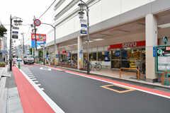 商店街にあるスーパーの様子。(2017-09-20,共用部,ENVIRONMENT,1F)