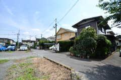 周辺は穏やかな住宅街です。(2017-07-06,共用部,ENVIRONMENT,1F)