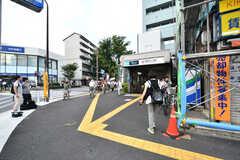 東京メトロ丸ノ内線・南阿佐ヶ谷駅の様子2。(2017-07-06,共用部,ENVIRONMENT,1F)