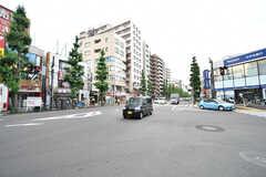 東京メトロ丸ノ内線・南阿佐ヶ谷駅前の交差点。(2017-07-06,共用部,ENVIRONMENT,1F)