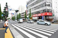 東京メトロ丸ノ内線・南阿佐ヶ谷駅前の様子。(2017-07-06,共用部,ENVIRONMENT,1F)