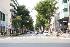中杉通りをまっすぐ進むと阿佐ヶ谷駅にも歩いていけます。(2017-07-06,共用部,ENVIRONMENT,1F)
