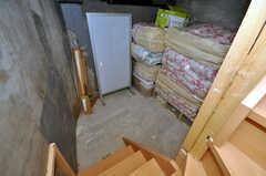 地下室の様子。季節物などをしまっておくことが出来ます。(2010-03-26,共用部,OTHER,)