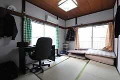 専有部の様子。※家具は住人さんの私物です。(202号室)(2014-01-09,専有部,ROOM,2F)