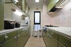 キッチンの様子。(2014-03-27,共用部,KITCHEN,2F)
