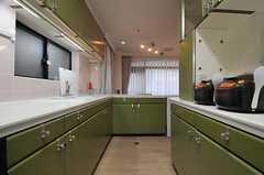 キッチンの様子2。(2014-03-27,共用部,KITCHEN,2F)