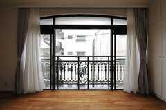 窓の様子。(303号室)(2014-03-27,専有部,ROOM,3F)