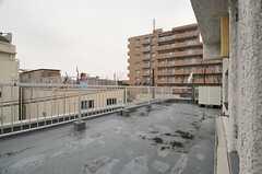 屋上の様子2。(2014-03-27,共用部,OTHER,4F)