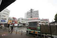 各線・阿佐ヶ谷駅前の様子。(2014-03-27,共用部,ENVIRONMENT,1F)