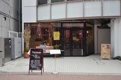 近くには小さなレストランやスイーツショップなどもあります。(2016-03-02,共用部,ENVIRONMENT,1F)