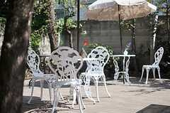 気軽にカフェ気分を楽しめそう。(2011-09-29,共用部,OTHER,1F)