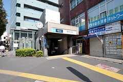 東京メトロ丸の内線・南阿佐ヶ谷駅の様子。(2011-09-29,共用部,ENVIRONMENT,1F)