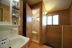 ウォシュレット付きトイレの様子。(2014-04-14,共用部,TOILET,2F)