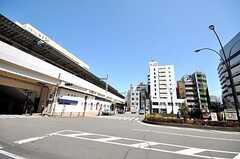 JR中央線高円寺駅の様子。(2009-04-02,共用部,ENVIRONMENT,1F)
