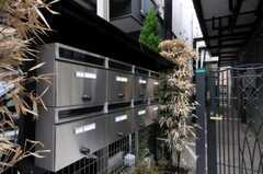 ポストは部屋ごとに設置されています。(2010-09-14,共用部,OTHER,1F)