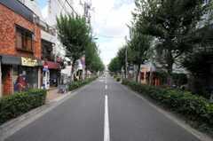 東京メトロ丸ノ内線・東高円寺駅からシェアハウスへ向かう道の様子。(2010-09-14,共用部,ENVIRONMENT,1F)