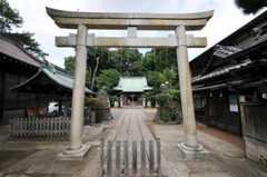 シェアハウス近くの神社。(2010-09-14,共用部,OTHER,1F)