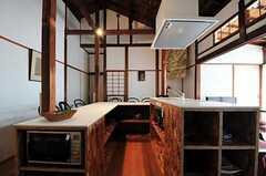 キッチンの様子2。(2012-08-10,共用部,KITCHEN,1F)