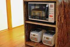 キッチン家電の様子。(2012-08-10,共用部,KITCHEN,1F)