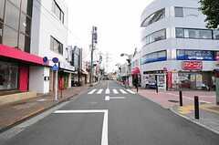 京王電鉄井の頭線・西永福駅前の様子。(2012-08-10,共用部,ENVIRONMENT,1F)